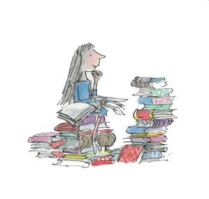 Matilda illustration by Quentin Blake