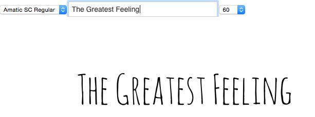 The Greatest Feeling